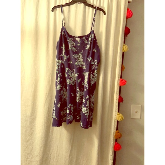 Old Navy Dresses & Skirts - Navy blue floral dress